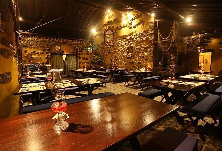 Restaurante Garajau, perto da praia da Ribeira Quente