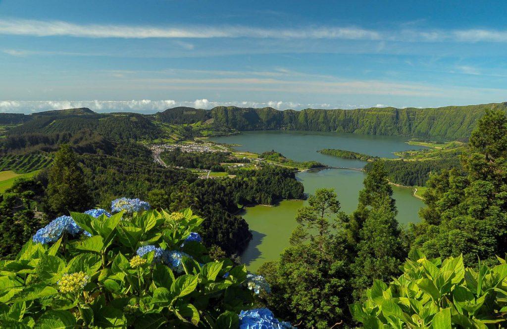 vista do rei São Miguel Azores