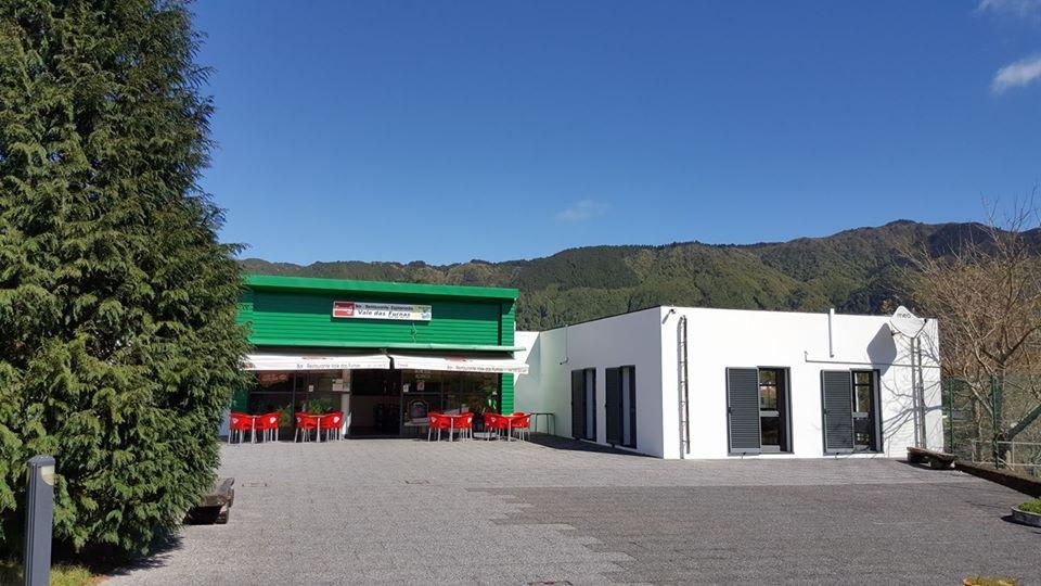 Restaurante Vale das Furnas no parque de campismo